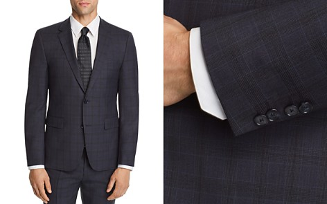 HUGO Astian Slim Fit Tonal Plaid Suit Jacket - Bloomingdale's_2