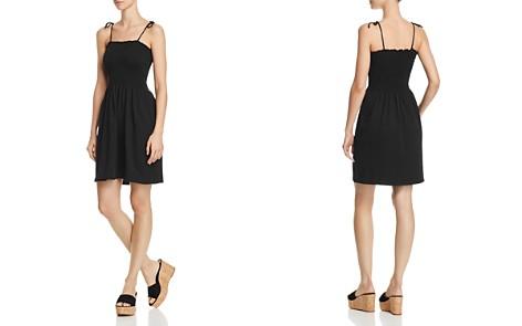AQUA Tie-Strap Smocked Dress - 100% Exclusive - Bloomingdale's_2