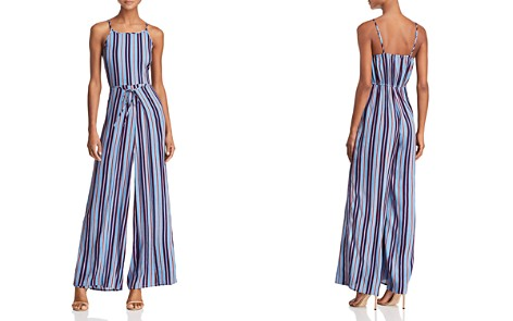 Band of Gypsies Gia Striped Jumpsuit - Bloomingdale's_2