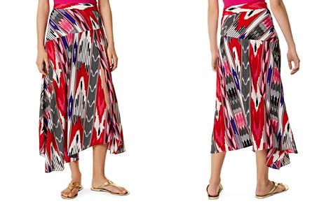 KAREN MILLEN Asymmetric Printed Midi Skirt - Bloomingdale's_2