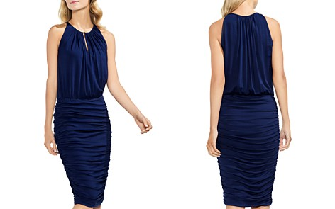 VINCE CAMUTO Keyhole Ruched Dress - Bloomingdale's_2