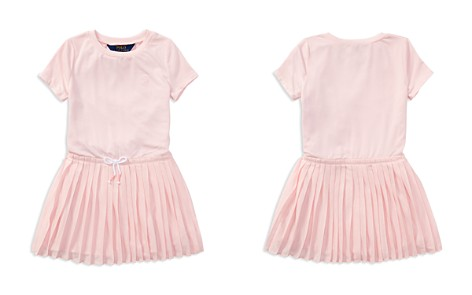 Polo Ralph Lauren Girls' Pleated T-Shirt Dress - Little Kid - Bloomingdale's_2