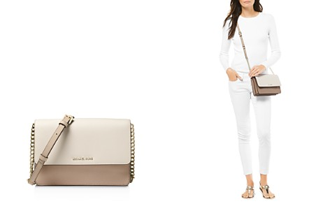 Michael Kors Large Gusseted Leather Crossbody - Bloomingdale's_2
