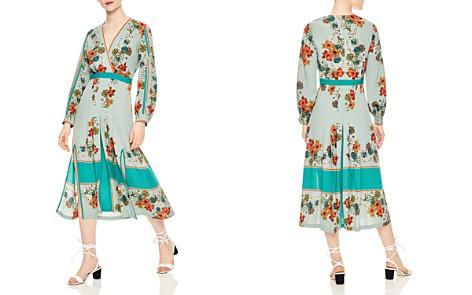 Sandro Alchimie Floral Midi Dress - Bloomingdale's_2