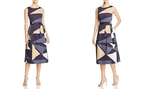 Lafayette 148 New York Sammy Geometric-Print Midi Dress - Bloomingdale's_2