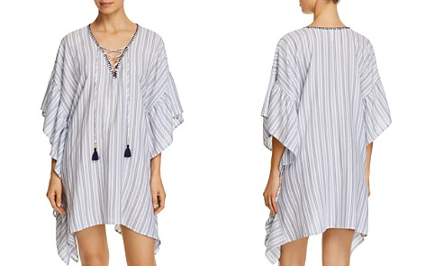 Tommy Bahama Ticking Stripe Tunic Swim Cover-Up - Bloomingdale's_2