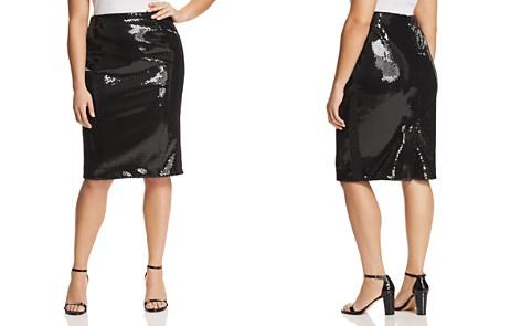 Marina Rinaldi Occipite Sequined Pencil Skirt - Bloomingdale's_2