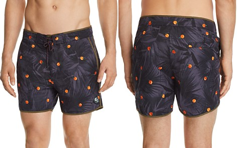 Scotch & Soda Orange-Print Swim Trunks - Bloomingdale's_2