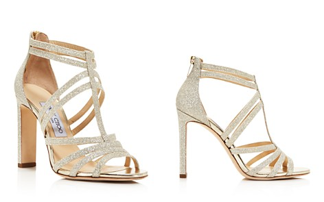 Jimmy Choo Women's Selina 100 Glitter High-Heel Sandals - Bloomingdale's_2