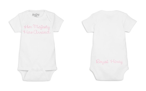 Sara Kety Girls' Her Majesty Has Arrived Bodysuit, Baby - 100% Exclusive - Bloomingdale's_2