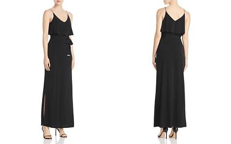 MICHAEL Michael Kors Chain Strap Overlay Maxi Dress - Bloomingdale's_2