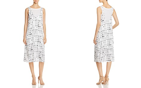 Kenneth Cole Layered Slip Dress - Bloomingdale's_2