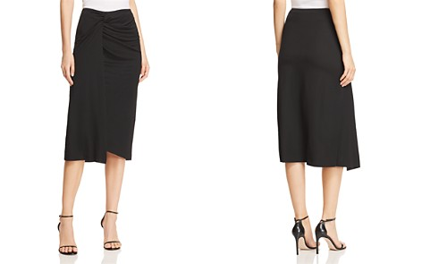 Kenneth Cole Twisted Faux-Wrap Skirt - Bloomingdale's_2