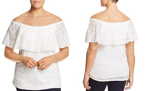 Estelle Bayview Lace Off-the-Shoulder Top - Bloomingdale's_2