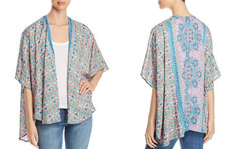 Tolani Printed Open-Front Kimono Cardigan - Bloomingdale's_2