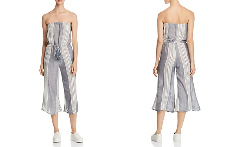 Elan Striped Strapless Jumpsuit - Bloomingdale's_2
