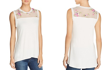 Kim & Cami Floral-Embroidered Tank - Bloomingdale's_2