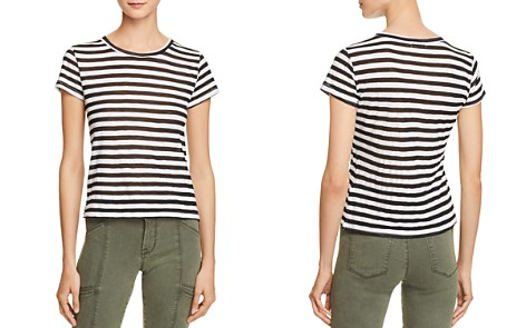 Michelle by Comune Crewneck Stripe Tee - Bloomingdale's_2