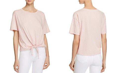 Velvet by Graham & Spencer Matty Tie-Front Tee - Bloomingdale's_2