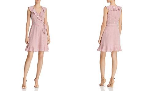 Lucy Paris Amelio Striped Faux-Wrap Dress - 100% Exclusive - Bloomingdale's_2