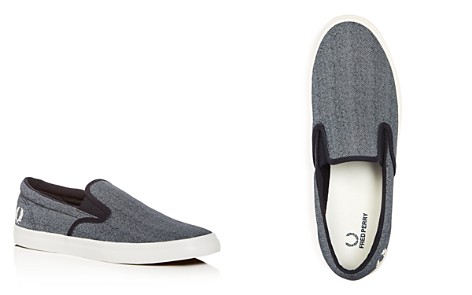 Fred Perry Men's Underspin Denim Slip-On Sneakers - Bloomingdale's_2