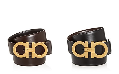 Salvatore Ferragamo Double Gancini Reversible Leather Belt - Bloomingdale's_2