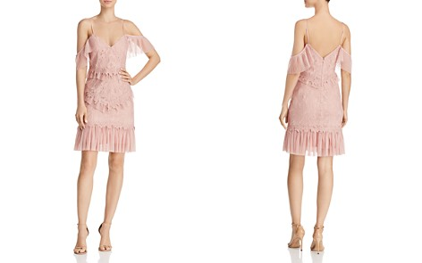 Bardot Valorie Cold-Shoulder Lace & Tulle Dress - Bloomingdale's_2