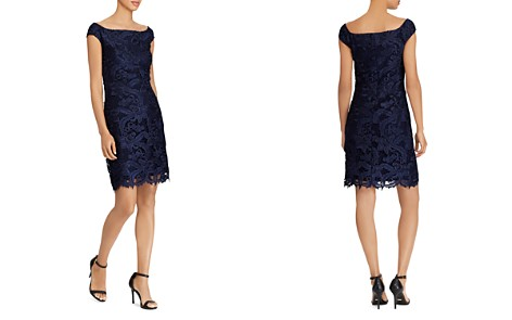 Lauren Ralph Lauren Lace Cocktail Dress - Bloomingdale's_2