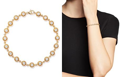 Bloomingdale's Diamond Milgrain Bezel Bracelet in 14K Yellow Gold, 1.50 ct. t.w. - 100% Exclusive _2