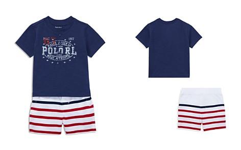Ralph Lauren Boys' Henley Tee & Striped Shorts Set - Baby - Bloomingdale's_2