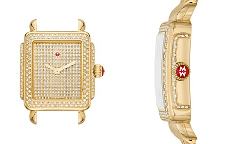 MICHELE Deco Mid Watch, 29mm x 31mm - Bloomingdale's_2