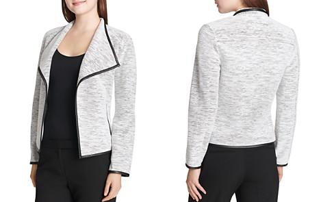 Calvin Klein Textured Open Flyaway Jacket - Bloomingdale's_2