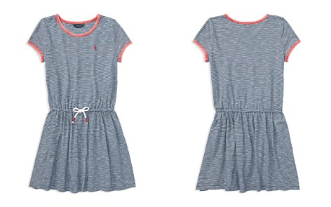 Polo Ralph Lauren Girls' Striped T-Shirt Dress - Big Kid - Bloomingdale's_2