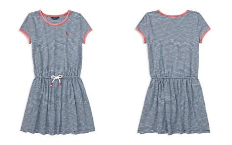 Polo Ralph Lauren Girls' Striped T-Shirt Dress - Big Kid - Bloomingdale's_2