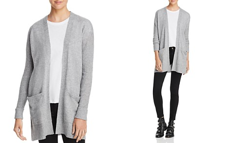 AQUA Open-Front Cashmere Cardigan - 100% Exclusive - Bloomingdale's_2