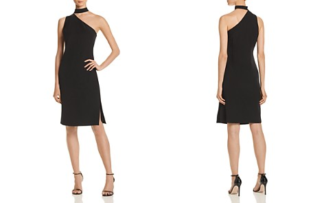Laundry by Shelli Segal One-Shoulder Choker Dress - 100% Exclusive - Bloomingdale's_2