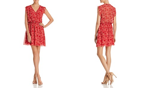 The Fifth Label Apricity Crossover Floral-Print Mini Dress - 100% Exclusive - Bloomingdale's_2