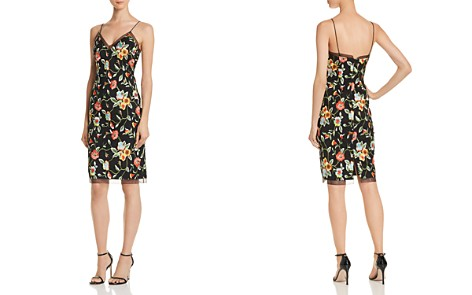 Aidan by Aidan Mattox Floral Embroidered Dress - Bloomingdale's_2