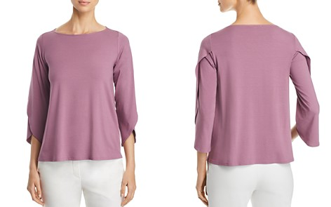 Eileen Fisher Tulip Sleeve Top - Bloomingdale's_2