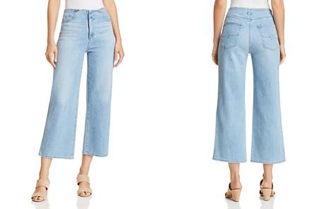 AG Etta Wide Leg Jeans in Sunlight Blue - Bloomingdale's_2