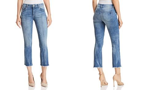 DL1961 Lara Instasculpt Crop Flare Jeans in Davidson - Bloomingdale's_2