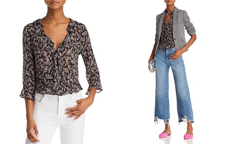 Bailey 44 Extracurricular Ruffled Floral Print Top - Bloomingdale's_2
