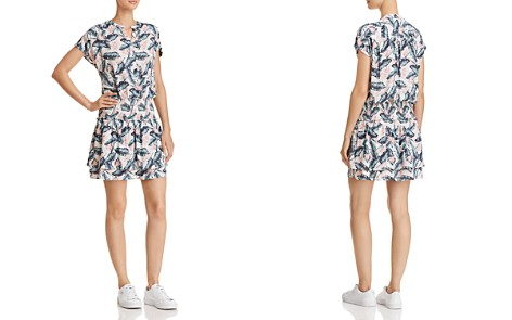 Rails Angelina Palm Print Drop-Waist Dress - Bloomingdale's_2