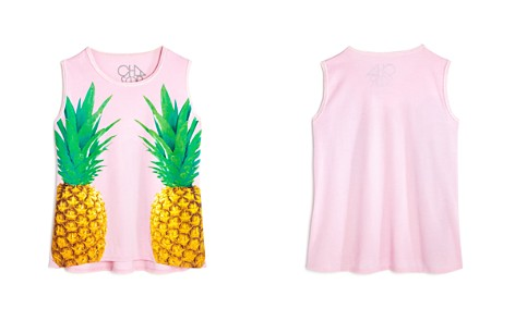 CHASER Girls' Pineapple Graphic Tank - Little Kid, Big Kid - Bloomingdale's_2