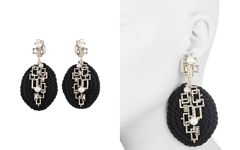 Alexis Bittar Geometric Coiled Cord Clip-On Drop Earrings - Bloomingdale's_2
