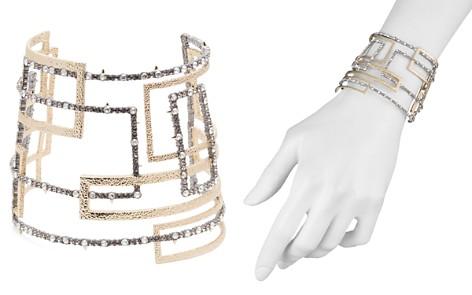 Alexis Bittar Crystal Encrusted Geometric Cuff Bracelet - Bloomingdale's_2