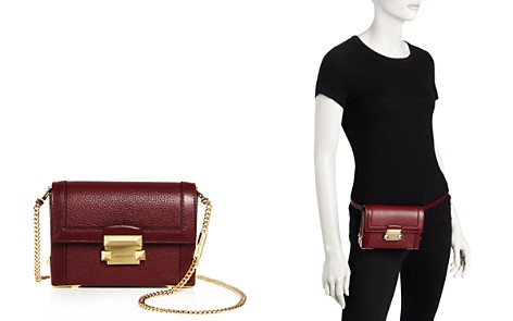 MICHAEL Michael Kors Jayne Convertible Leather Belt Bag - 100% Exclusive - Bloomingdale's_2