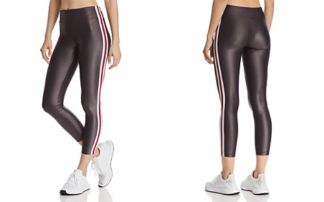 KORAL Trainer Striped-Trim Leggings - Bloomingdale's_2