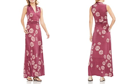 VINCE CAMUTO Sleeveless Floral-Print Maxi Dress - Bloomingdale's_2