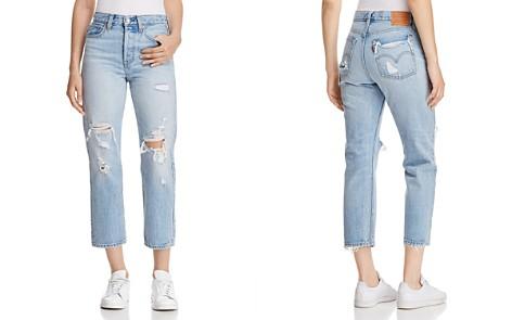 Levi's Wedgie Straight Jeans in Best Kept Secret - Bloomingdale's_2